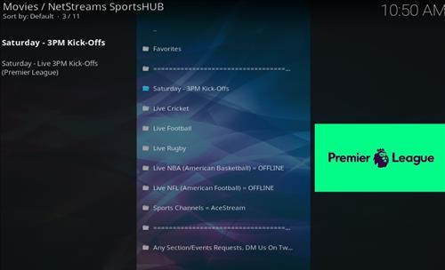 How to Install NetStreams Sports Hub Kodi Add-on with Screenshots pic 2