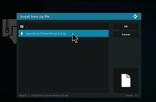 How to Install NetStreams Sports Hub Kodi Add-on with Screenshots step 12
