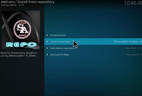How to Install NetStreams Sports Hub Kodi Add-on with Screenshots step 15
