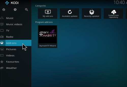 How to Install NetStreams Sports Hub Kodi Add-on with Screenshots step 8
