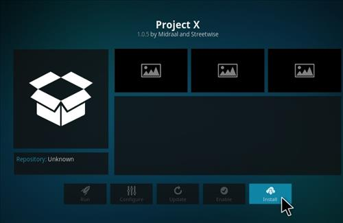 How to Install Project X Kodi Add-on with Screenshots step 19