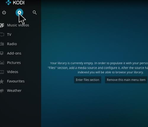 How to Install SG Professional Kodi Build with Screenshots step 1