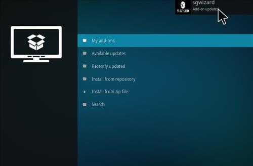 How to Install SG Professional Kodi Build with Screenshots step 13