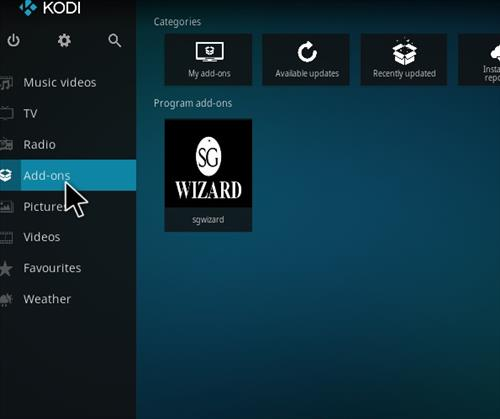 How to Install SG Professional Kodi Build with Screenshots step 14