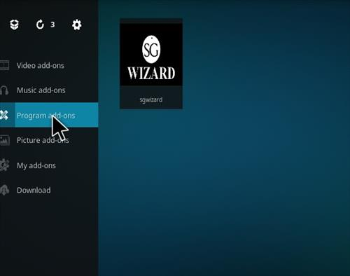 How to Install SG Professional Kodi Build with Screenshots step 15