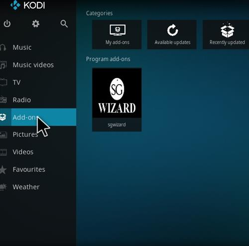 How to Install SG Professional Kodi Build with Screenshots step 8