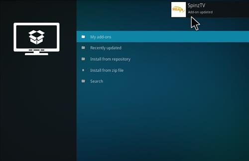 How to Install SpinzTV Fury Classic Kodi Build with Screenshots step 13
