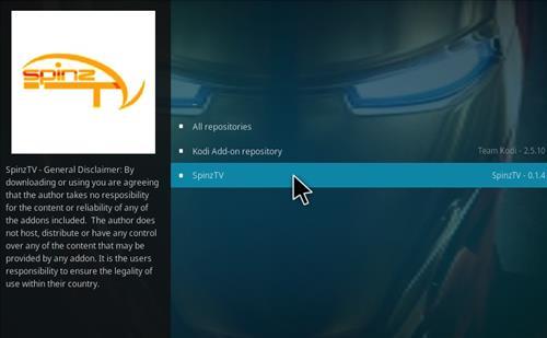 How to Install SpinzTV Fury Classic Kodi Build with Screenshots step 15
