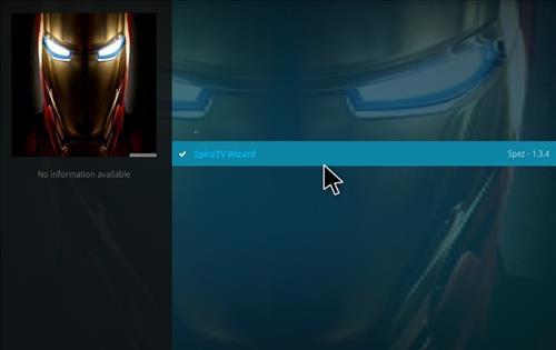 How to Install SpinzTV Fury Classic Kodi Build with Screenshots step 17