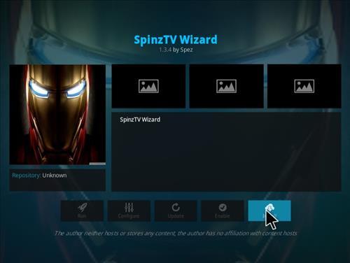 How to Install SpinzTV Fury Classic Kodi Build with Screenshots step 18