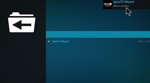 How to Install SpinzTV Fury Classic Kodi Build with Screenshots step 19