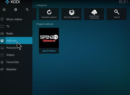 How to Install SpinzTV Fury Classic Kodi Build with Screenshots step 20