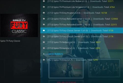 How to Install SpinzTV Fury Classic Kodi Build with Screenshots step 24