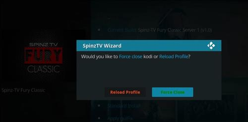 How to Install SpinzTV Fury Classic Kodi Build with Screenshots step 28