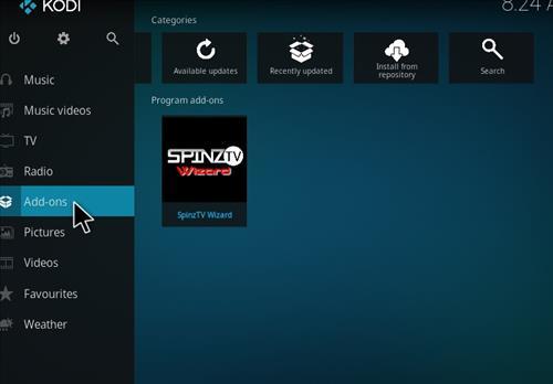 How to Install SpinzTV Fury Classic Kodi Build with Screenshots step 8