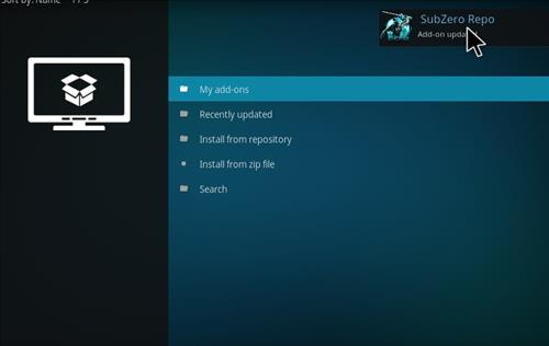 How to Install Subzero MMA Kodi Add-on with Screenshots step 13