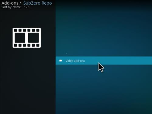 How to Install Subzero MMA Kodi Add-on with Screenshots step 16