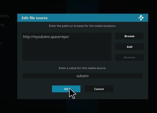How to Install Subzero MMA Kodi Add-on with Screenshots step 7