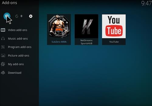 How to Install Subzero MMA Kodi Add-on with Screenshots step 9