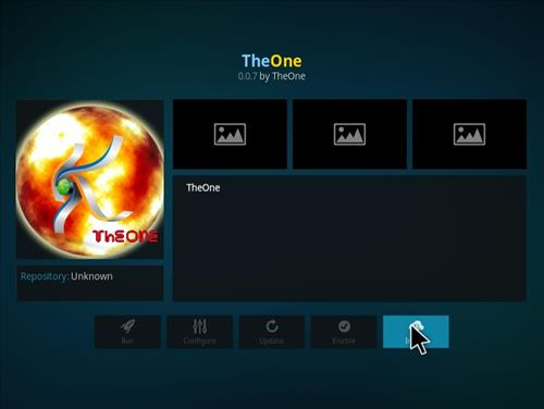 How to Install TheOne Kodi Add-on with Screenshots step 18