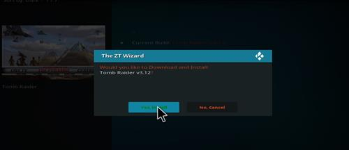How to Install Tomb Raider Build Kodi 17.6 Krypton with Screenshots step 26
