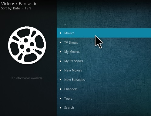 how to add movies to kodi