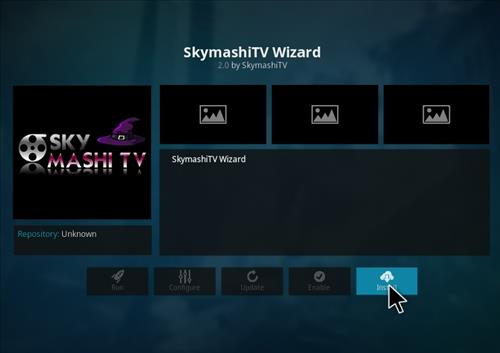 how to install Skymashi Build with Screenshots step 18