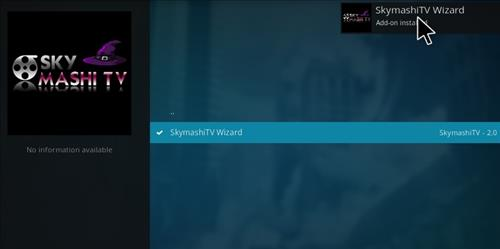 how to install Skymashi Build with Screenshots step 19