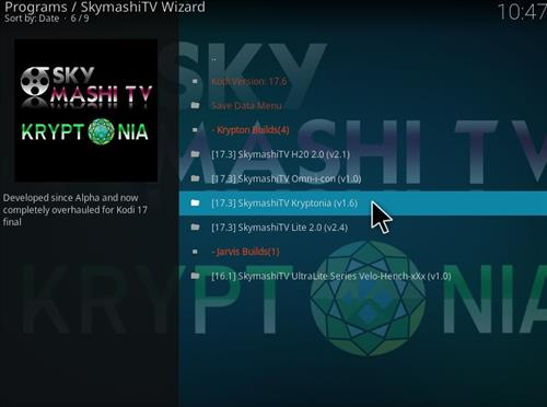 how to install Skymashi Build with Screenshots step 24