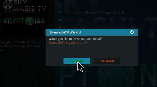 how to install Skymashi Build with Screenshots step 26
