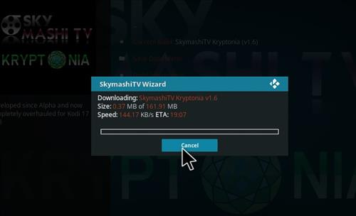 how to install Skymashi Build with Screenshots step 27