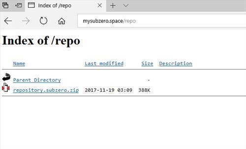 manual and download subzero repo step 1