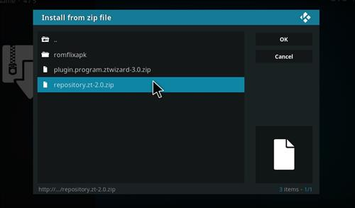 How to Install Alpha ZT Kodi Builds with Screenshots step 12