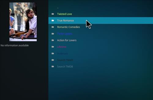 How to Install Amore Kodi Add-on with Screenshots pic 2