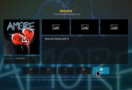 How to Install Amore Kodi Add-on with Screenshots step 18
