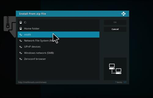 How to Install Atomic Kodi build with screenshots step 11