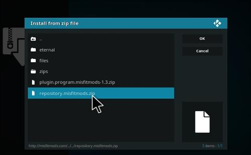 How to Install Atomic Kodi build with screenshots step 13