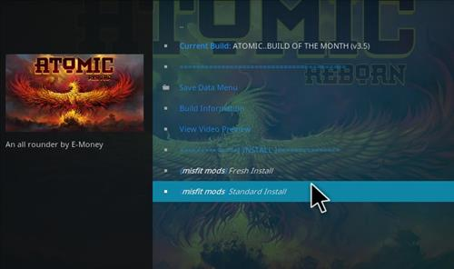 How to Install Atomic Kodi build with screenshots step 27