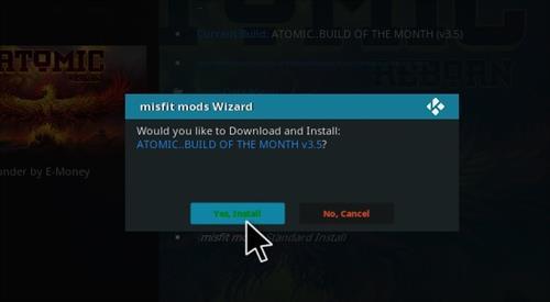 How to Install Atomic Kodi build with screenshots step 28