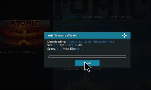 How to Install Atomic Kodi build with screenshots step 29