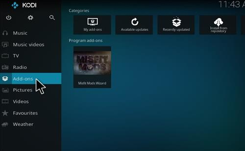 How to Install Atomic Kodi build with screenshots step 8