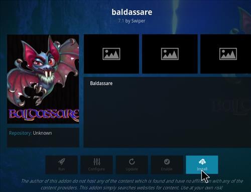 How to Install Baldassare Kodi Add-on with Screenshots step 18