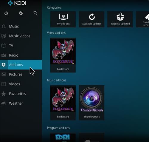 How to Install Baldassare Kodi Add-on with Screenshots step 8
