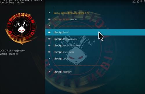 How to Install Bucky Kodi Build with Screenshots step 17