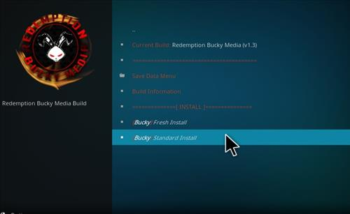 How to Install Bucky Kodi Build with Screenshots step 18