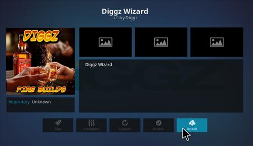How to Install Digzz Kodi Build with Screenshots step 18