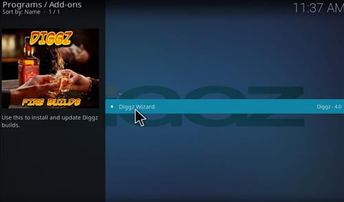 How to Install Digzz Kodi Build with Screenshots step 22