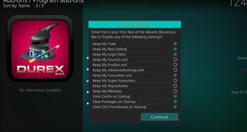 How to Install Durex Build Kodi 17.6 Krypton with Screenshots step 15