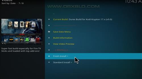 How to Install Durex Build Kodi 17.6 Krypton with Screenshots step 18