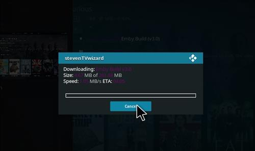 How to Install Emby Kodi Build with Screenshots step 21